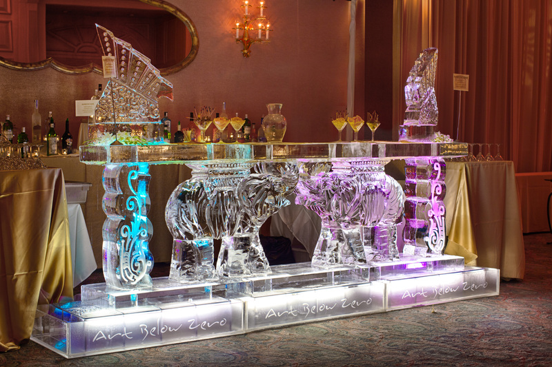 Collection of Indian Themed Ice Sculptures for Sahil and Aneta ...