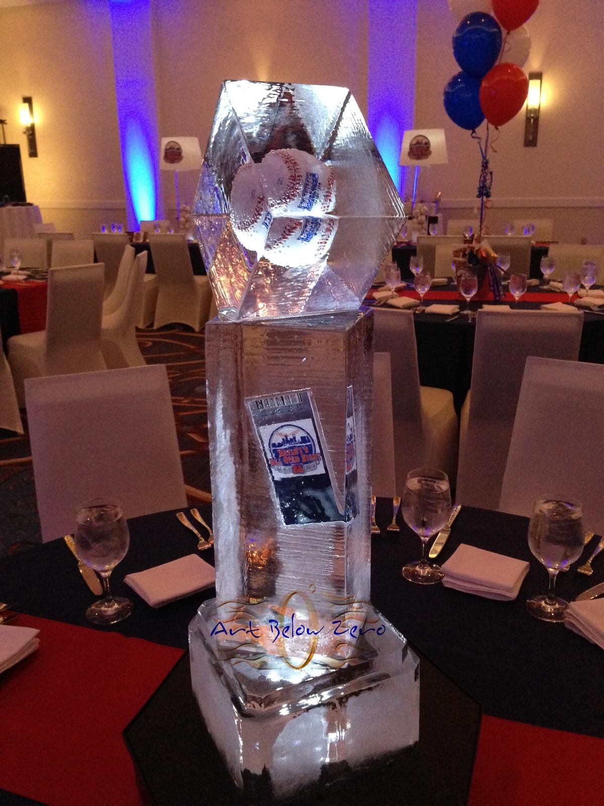 Net ice sculptures for weddings ice centerpieces wedding centerpieces