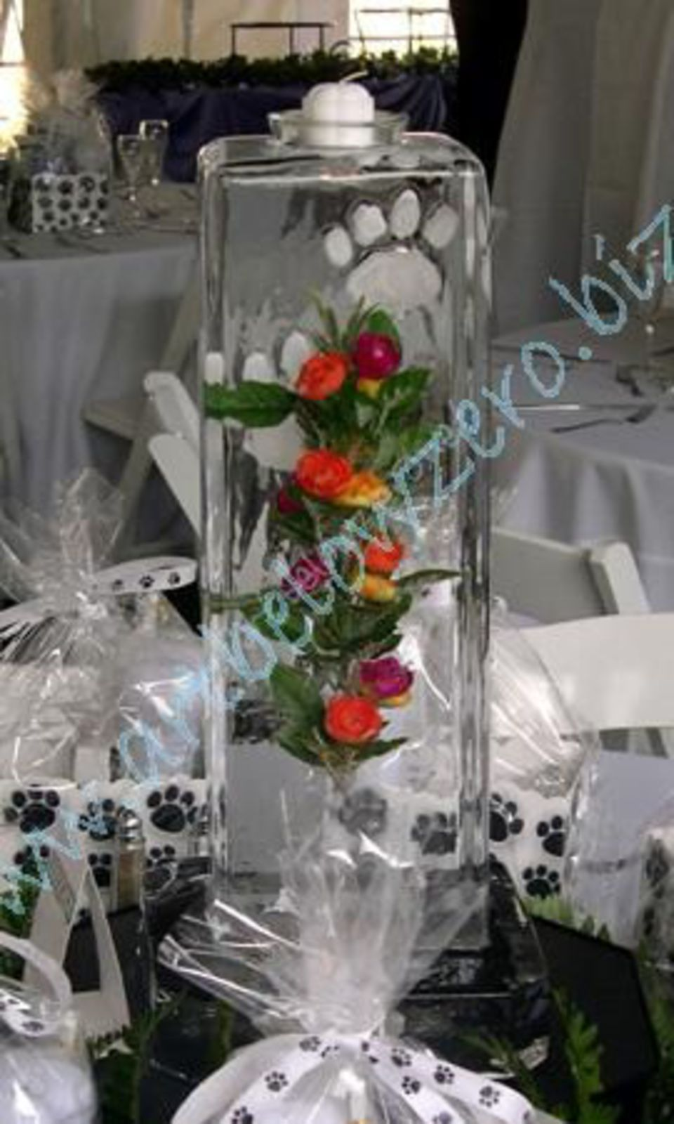Ice centerpieces by art below zero