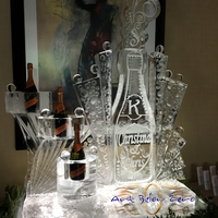 wedding ice sculptures by art below zero
