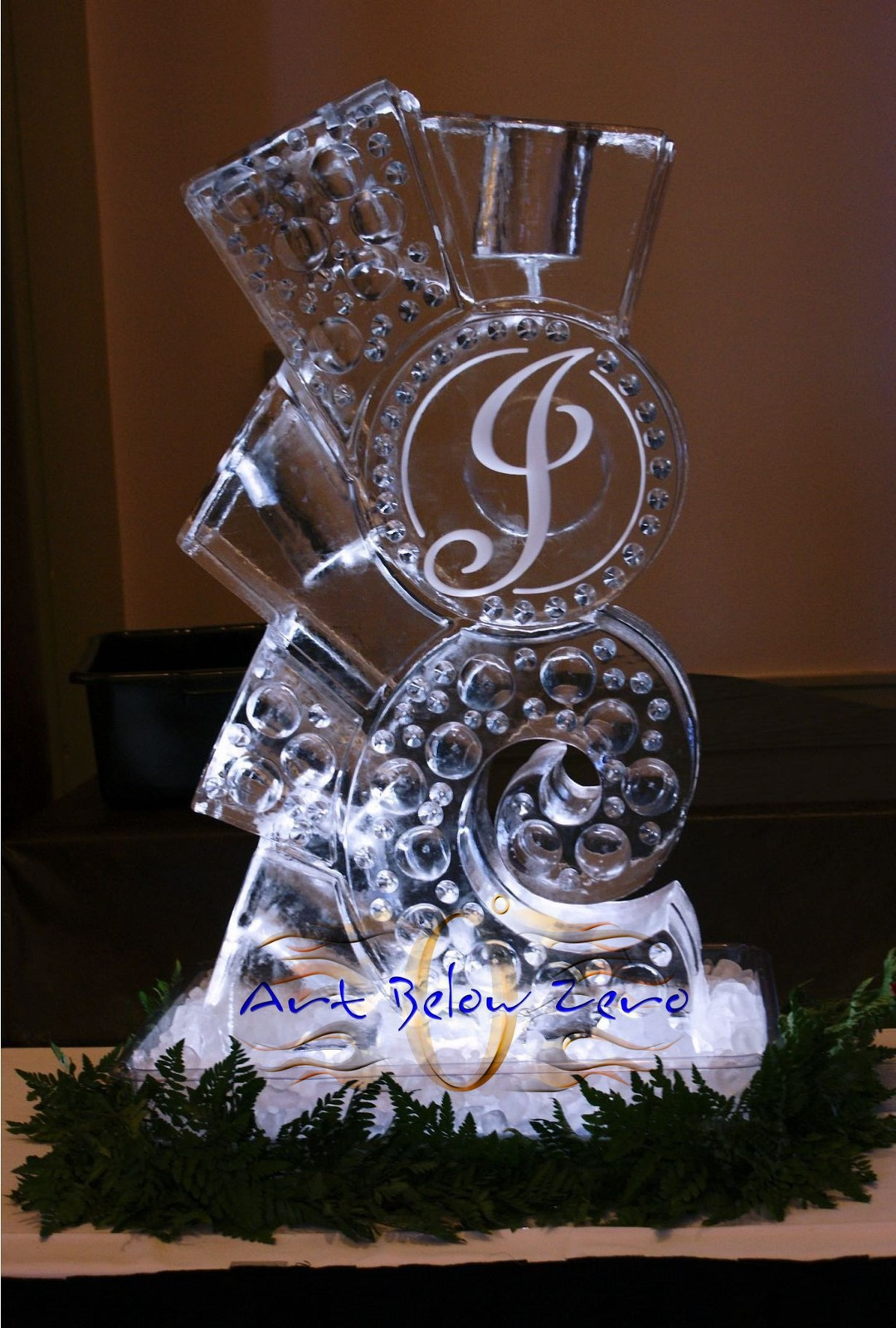ice bars and ice luge  by art below zero