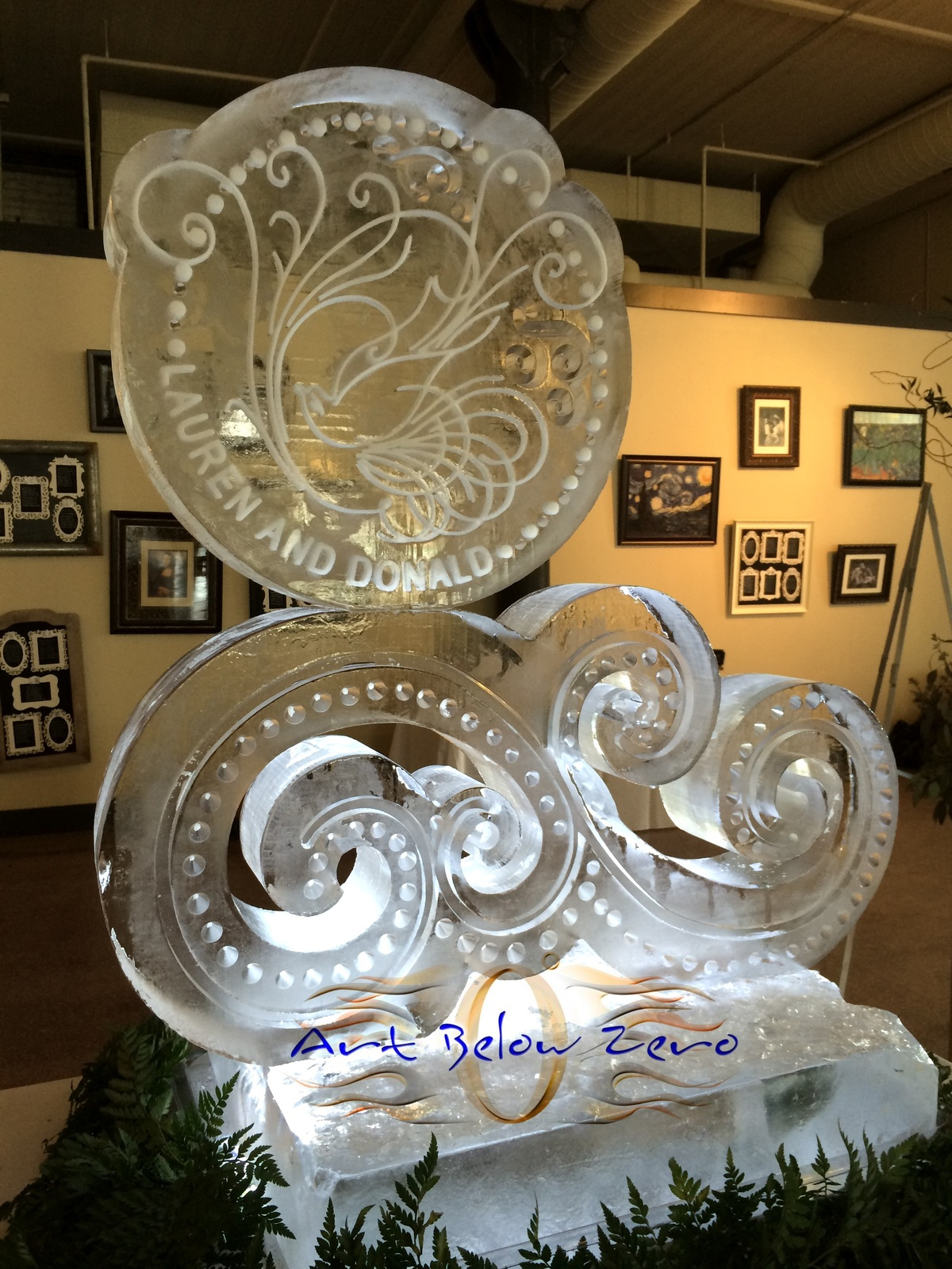 Lauren___donald_ice_sculpture